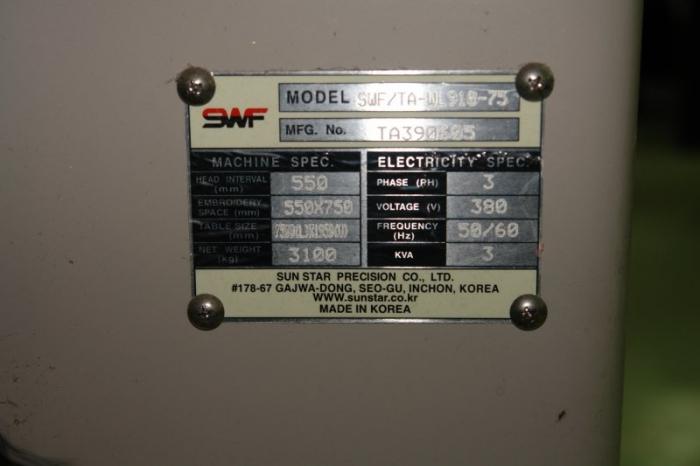 Hafciarka SWF/TA-WL910-75